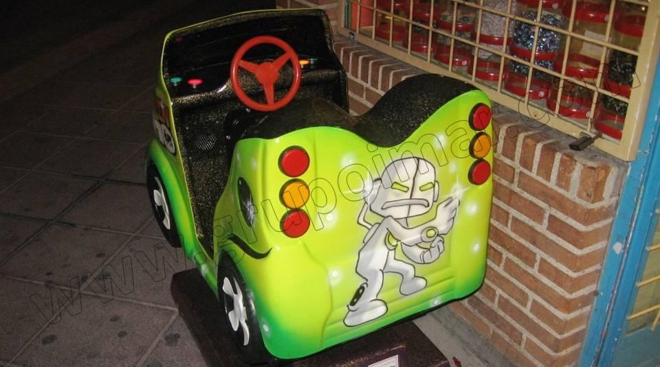 Máquinas infantiles en locales comerciales