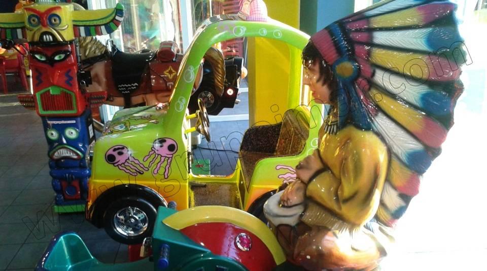 Máquinas Infantiles en Centros Comerciales