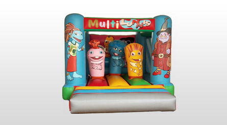 Castillo Hinchable Multilunnis