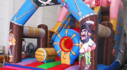 Tobogán Hinchable Pirata