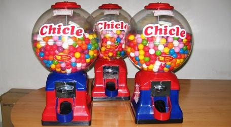 Máquinas expendedoras de bolas