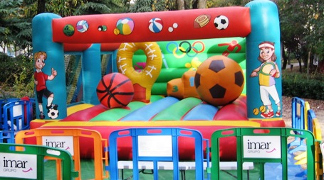 Castillo Hinchable Multideportes