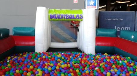 Multibolas Hinchable